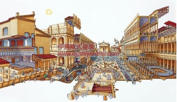 古建筑结构剖面3