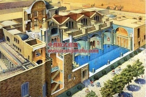 古建筑结构剖面4
